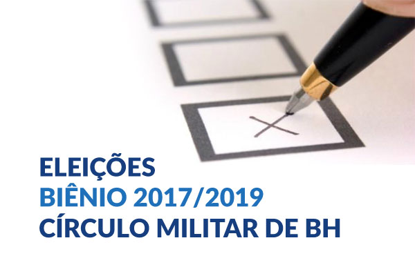 Evento Eleições - Círculo Militar de Belo Horizonte