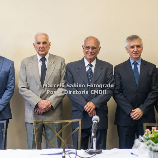 Ten Cel João Carlos Dias, Gen Div Amaury Sá Freire de Lima, Gen Ex Romulo Bini Pereira, Gen Div Altair José  Polsin e Cel Ney Guimarães