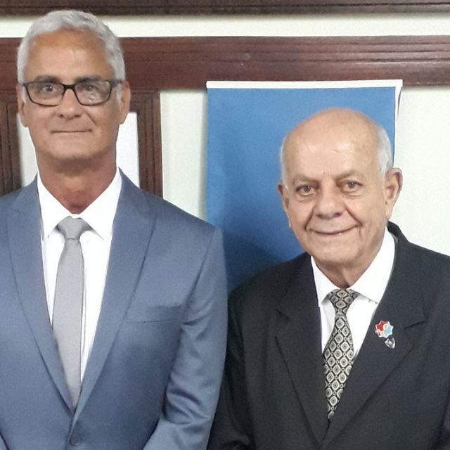 Ten Cel João Carlos Dias e Cel Ney Guimarães