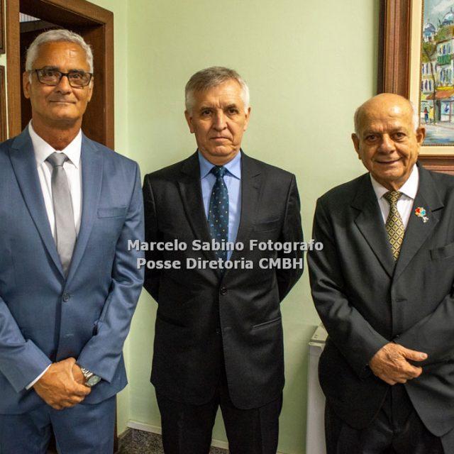 Ten Cel João Carlos Dias, Gen Div Altair José Polsin e Cel Ney Guimarães